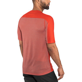 Norrøna Bitihorn Wool T-shirt Men tasty red